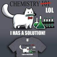 Chemistry LOL by amegoddess