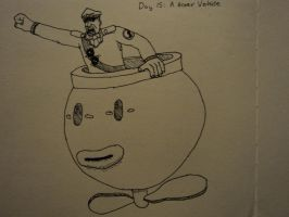 30 Day Challenge #15: A Hover Vehicle by Rythmear