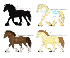 Horse Adopts 1 left by NeonFlamez