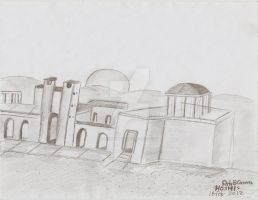 Ruins in the desert by Paty-Longbottom21