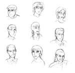 Live Action Faces by HyperSpaceOddity