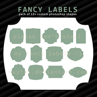Fancy Labels by maytel
