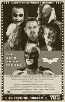 The Dark Knight Trilogy by Hartter
