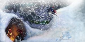 UBF: Challenging the Blizzard by V-shue