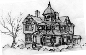 Victorian House by cakesniffer2000