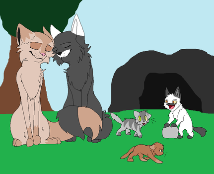 Family of Five by Xx-Ask-Creamfur-xX