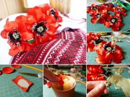 Wreath of poppies by UrsulaOT
