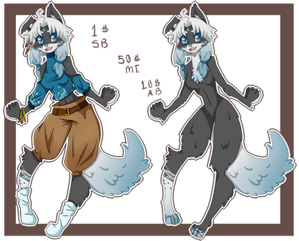 Moon and Stars Anthro Adopt :closed: by AllieAnimeChan