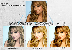Photoshop actions - 3 by LadyAngiexD