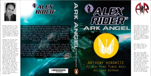Cover Redesign for Ark Angel by DragonicFox