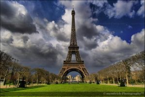 Eiffel Tower 0338o by mym8rick