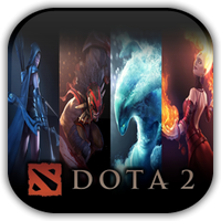 DOTA 2 Game Icon by Wolfangraul