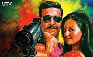 Rowdy Rathore Poster Action by ILoserBoy