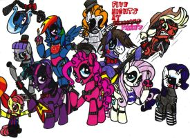 Five Nights at Pinkie's by KrytenMarkGen-0