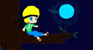 Fan Art- Under the Moonlight-Inthelittlewood by Rifeefee
