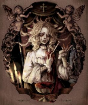 The Vampire's Death by Sui-yumeshima