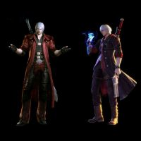 devil may cry 4 dante and nero by Tengudevil