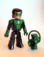 Kyle Rayner Custom Minimate by luke314pi