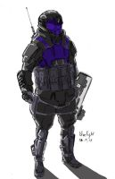 halo odst fan art by bluelightt