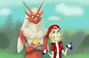 Alex and Erik Nuzlocke'n by WforWumbo