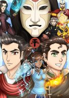 Legend of Korra by Chao-Illustrations