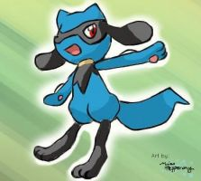 Riolu! by MissPepperony