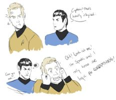 Star Trek in a nutshell by RubiaStreet