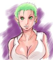 Girl Zoro by InfinitySign