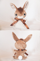 Bigwig - Watership Down Inspired Teacup Bunny by tiny-tea-party