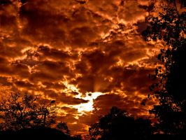 Fire in the sky by hell46