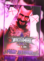 CM PUNK RETURNS (requested) by TheIronSkull