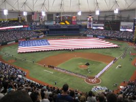 The Trop Game 1 2008 ALDS by corymiller