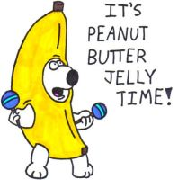 Peanut Butter Jelly Time by BrianGriffinFan