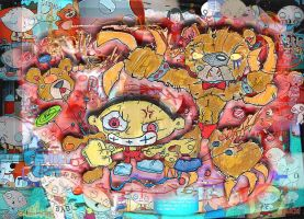 Stewie: Dancing Doomsday Bear by tOkKa