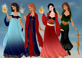 ACT goddesses pt 2 by VoyagetoDiscover2013