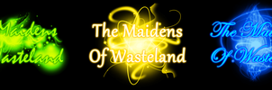 The Maidens of Wasteland Title Cards by LudiculousPegasus