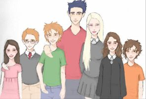 Harry Potter: TNG by PoorMedea