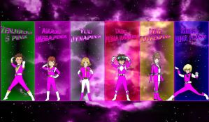 Digimon Gokaiger Pinks for asrockrpg by rangeranime