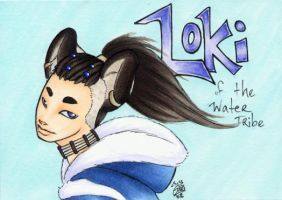 Loki Water Tribe badge by zirio