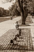 Make Way for Ducklings by Eliweisz