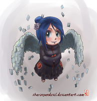 chibi Konan-chan by sharingandevil