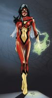 Spider-Woman by syr1979