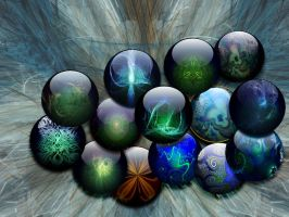 Fractal_marbles_wp by cara-pace