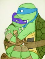 TMNT: LeoXAnya: (colored) by xXDanielPhantomXx