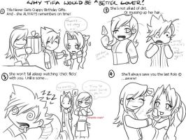 Why Tifa is Greater Than Cloud by Bhryn