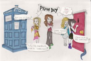 Prom Day Girls by xBeyondTheGalaxies