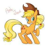MLP - Applejack by MMKNRNR