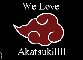 We love Akatsuki by Silversoul99
