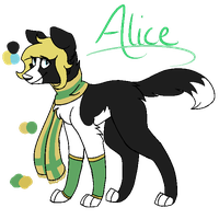 Alice Ref Sheet by ForestAntlers