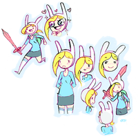 lots of fionna by onthefritz